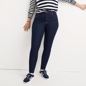 Madewell Curvy High Rise Skinny Plus Denim Jeans